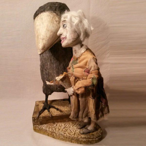Авторская кукла Светланы Щаденко. Одиночество