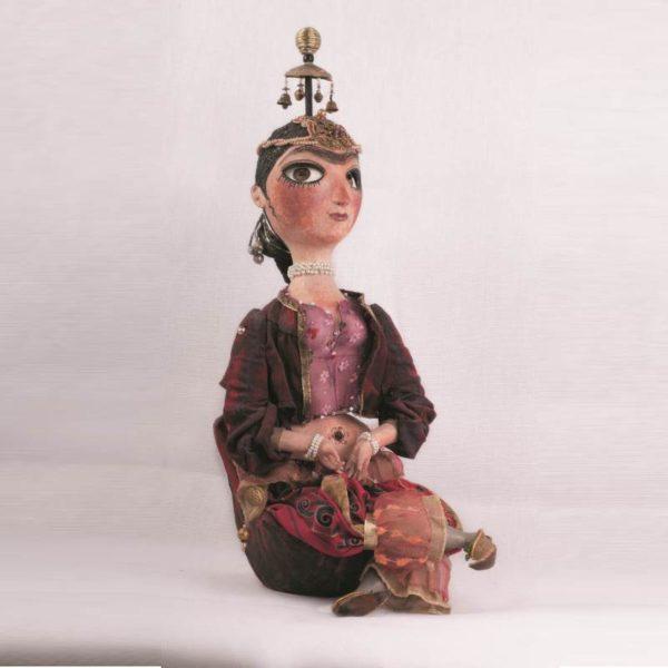Шахерезада. Авторская кукла из папье-маше