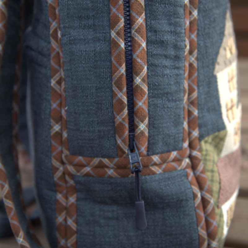 Авторский рюкзак Домики