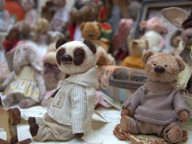 Мишки Тедди на выставке TeddyFun